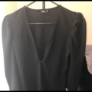 Black Express Body Suit